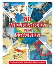 80 Weltkarten zum Staunen