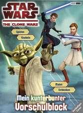 Star Wars The Clone Wars Vorschulblock