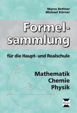 Formelsammlung für die Haupt- und Realschule