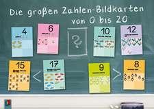 Die großen Zahlen-Bildkarten von 0 bis 20 für den Anfangsunterricht