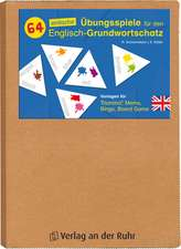 64 einfache Übungsspiele für den Englisch-Grundwortschatz