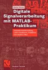 Digitale Signalverarbeitung mit MATLAB®-Praktikum: Zustandsraumdarstellung, Lattice-Strukturen, Prädiktion und adaptive Filter