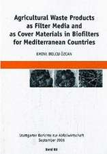 Agricultural Waste Products as Filter Media and as Cover Materials in Biofilters for Mediterranean Countries