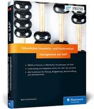 Öffentliches Haushalts- und Fördermittelmanagement mit SAP