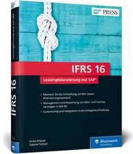 IFRS 16 - Leasingbilanzierung mit SAP