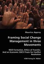 Framing Social Change Management in three Movements