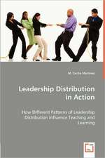 Leadership Distribution in Action