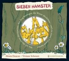 Sieben Hamster