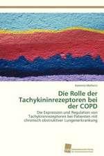 Die Rolle der Tachykininrezeptoren bei der COPD