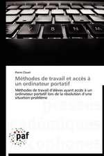 Méthodes de travail et accès à un ordinateur portatif