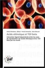 Acide rétinoïque et TGF-beta
