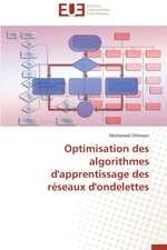 Optimisation Des Algorithmes D'Apprentissage Des Reseaux D'Ondelettes:  Le Cas Des Etudiants Haitiens