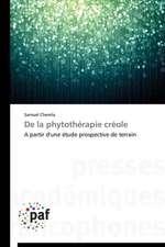 De la phytothérapie créole