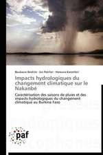 Impacts hydrologiques du changement climatique sur le Nakanbé