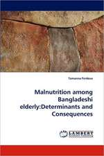 Malnutrition among Bangladeshi elderly: Determinants and Consequences