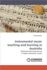 Instrumental music teaching and learning in Australia