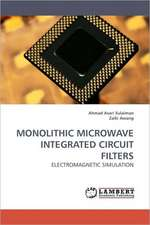 Monolithic Microwave Integrated Circuit Filters