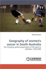 Geography of women's soccer in South Australia