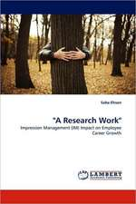 """""""A Research Work"""""""