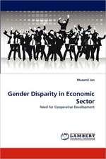 Gender Disparity in Economic Sector