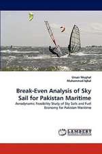 Break-Even Analysis of Sky Sail for Pakistan Maritime