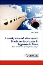 Investigation of attachment line boundary layers in hypersonic flows