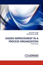 Kaizen Improvement in a Process Organization