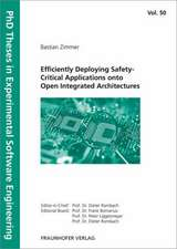 Efficiently Deploying Safety-Critical Applications onto Open Integrated Architectures