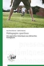 Pédagogies sportives