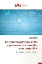 Le Ferromagnetisme Et Les Super-Reseaux a Base Des Composes III-N:  Essai D'Une Epistemologie
