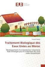 Traitement Biologique Des Eaux Usees Au Maroc