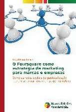 O Foursquare Como Estrategia de Marketing Para Marcas E Empresas:  Joao Antonio Andreoni E Sua Obra