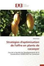 Strategies D'Optimisation de L'Offre En Plants de Cacaoyer:  Existe-T-Il Une Solution Endogene?