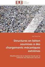Structures En Beton Soumises a Des Chargements Mecaniques Extremes:  Micro/Nano Manipulation