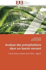 Analyse Des Precipitations Dans Un Bassin Versant:  Carrieres Et Promotions