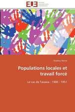 Populations Locales Et Travail Force:  Le Cas Des Ngemba