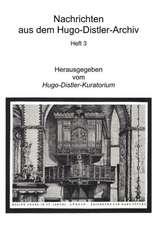Nachrichten aus dem Hugo-Distler-Archiv