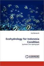 Ecohydrology for Indonesia Condition