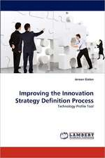 Improving the Innovation Strategy Definition Process