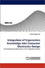Integration of Ergonomics Knowledge into Consumer Electronics Design