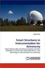 Smart Structures in Instrumentation for Astronomy