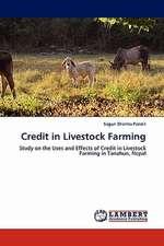 Credit in Livestock Farming