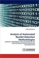 Analysis of Automated Rootkit Detection Methodologies