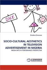 Socio-Cultural Aesthetics in Television Advertisement in Nigeria