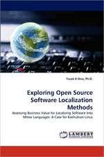 Exploring Open Source Software Localization Methods