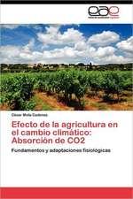 Efecto de La Agricultura En El Cambio Climatico:  Absorcion de Co2