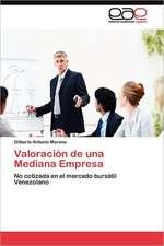 Valoracion de Una Mediana Empresa:  Economia, Espacio y Poder