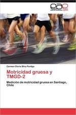 Motricidad Gruesa y Tmgd-2:  Economia, Espacio y Poder