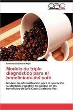 Modelo de Triple Diagnostico Para El Beneficiado del Cafe:  de La Participacion a la Incidencia