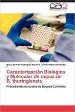 Caracterizacion Biologica y Molecular de Cepas de B. Thuringiensis:  Tecnicas Didacticas En El Laboratorio de Quimica Analitica